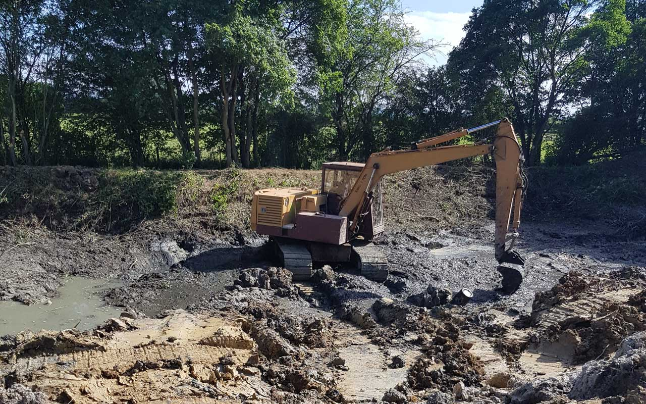 Pond Dredging & Reservoir Construction